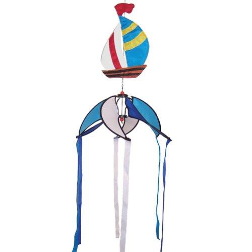 Voilier à suspendre Thème Spinner. télescopique pour drapeau poteaux. Camping Festivals.