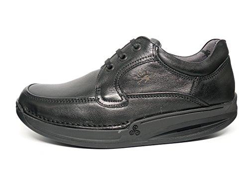 Fluchos, Scarpe stringate uomo nero Size: 41