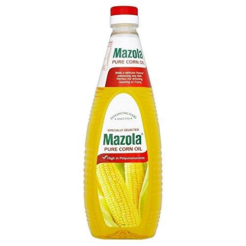 Reines Mazola Corn Oil (1 l) - Packung mit 2