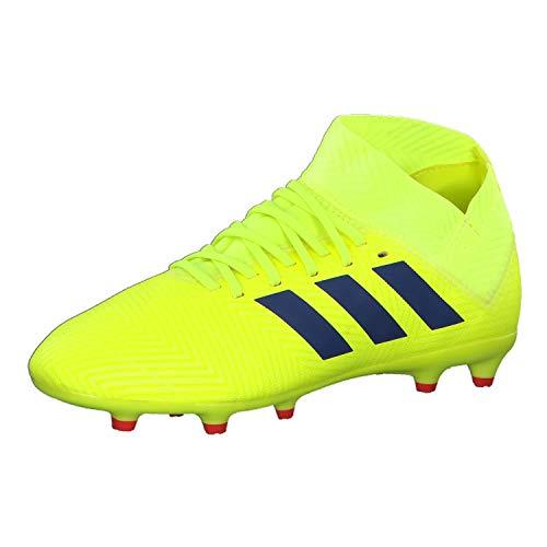 adidas Jungen Nemeziz 18.3 FG J Fußballschuhe Gelb Solar Yellow/Football Blue/Active Red, 38 2/3 EU
