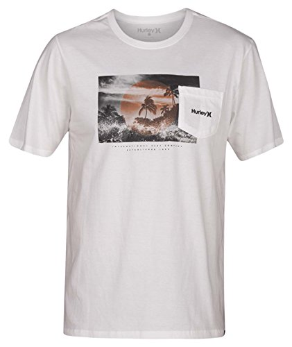 Hurley Whitewater Pocket SS - Pocket Hurley-t-shirt