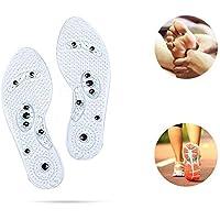 Magnetische Einlegesohlen, atmungsaktiv, Deodorant, waschbar, zuschneidbare Massageschuhe-Pads, Fußorthopädische... preisvergleich bei billige-tabletten.eu