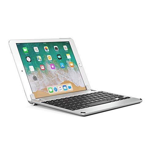 "Brydge 9.7 Tastiera in alluminio Bluetooth per iPad, iPad Air, Air 2 e iPad Pro 9.7""- Argento"