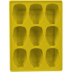 Marvel Iron Man - Molde de silicona, diseño de casco - Bandeja silicona casco Ironman