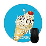 Best iXCC gaming mousepad - Calm Quotes Ice Cream Mouse Pads Non-Slip Rubber Review