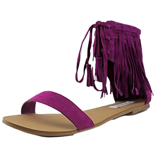 Steve Madden Finick Daim Sandales purple