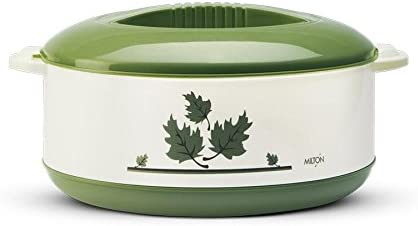 Milton Orchid Insulated Casserole, 2.36 Litres, Green