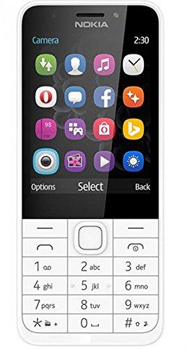 Nokia A00026919 230 DS Dual-Mini Smartphone silber