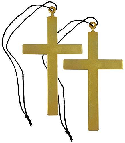 nder mit großen Priesterkreuzen zum Verkleiden an Fasching, Karneval oder Halloween ()