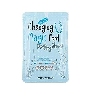 Tony Moly Cambio di piede magico - scarpe peeling - maschere speciali per i piedi