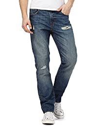 Red Herring Blue Mid Wash Slim Leg Jeans