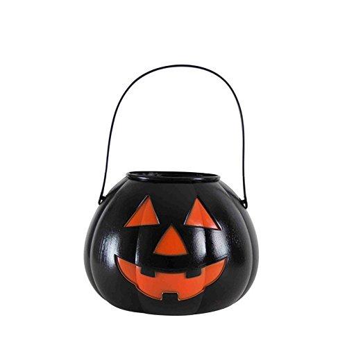 Rubie's - Calabaza portacaramelos, talla única, color negro (S7149)