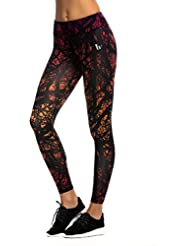 JIMMY DESIGN Damen Printed Sport Leggings - S, M, L, XL