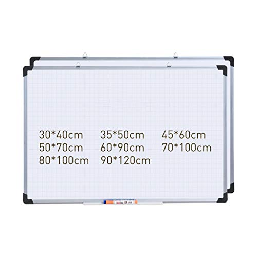 XDBY Office Magnetic Whiteboard - Hängendes Whiteboard - Pinnwand - Leicht Zu Reinigendes Whiteboard An Der Wand - Für Kinder, Zu Hause, Im Büro, In Der Schule (Color : A, Size : 60x90cm) - Hängende Wand-dateien