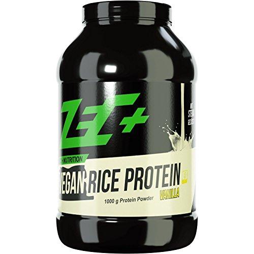 ZEC+ REIS PROTEIN SHAKE VEGAN VANILLE 1000g, hochwertiges Pflanzenprotein