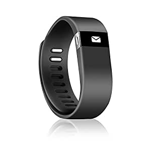 Fit Go Smart Wristband Sleep & Activity Tracker Black Color