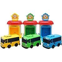 Little Bus Tayo Shooting Car Set(Bus and Garage) Rogi Tayo Rani by Tayo bus