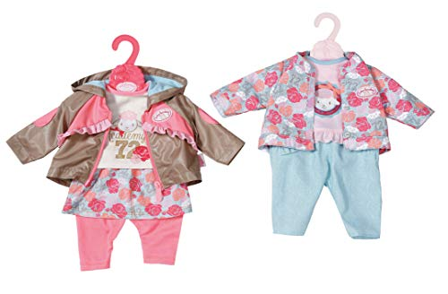 Zapf Creation 701973 Baby Annabell Active Jeans Puppenkleidung 43cm, Farbe nach Vorrat