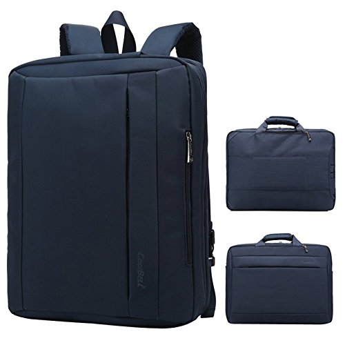 DMG CB5501 15.6-inch Multi Function Convertible Laptop Messenger Bag (Blue)