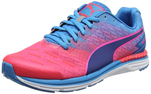 Puma Speed 300 Ignite Scarpe Running Uomo, Rosa (Bright Plasma Danube-True Blue 09), 43 EU