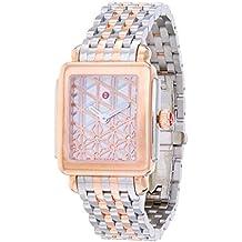 ea8c1936c2a1 Eligible for FREE UK Delivery. Michele Deco II MWW06X000027 0.05 ct tw Diamonds  Steel Quartz Ladies Watch
