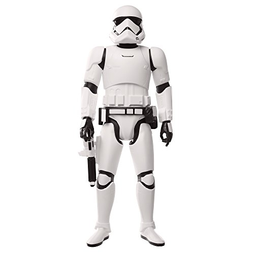 Jakks pacific- star wars personaggi-first order stormtrooper episodio viii, 50 cm, 36989-ep8-ply