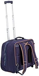 Kipling Clas Dallin Cartable, 42 cm, 25 liters, Bleu (Blue Tan Block)