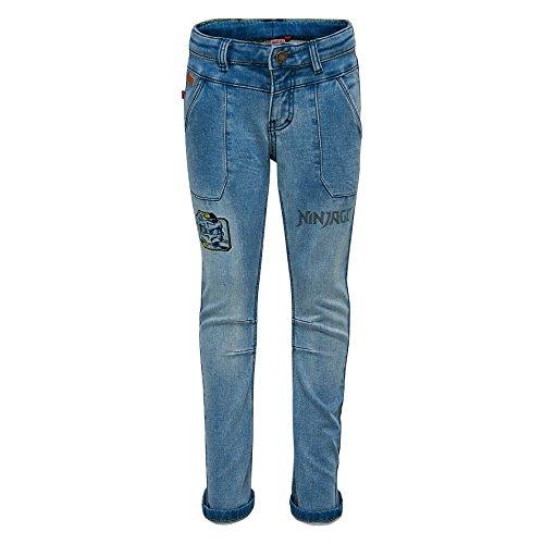 Lego Wear Jungen Ninjago PILOU 307-JEANS Jeans, Blau (Light Denim 27), 134 -