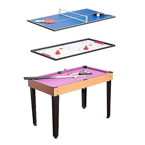 Homcom 3 in 1 Multi Games Table Billiards Pool Table