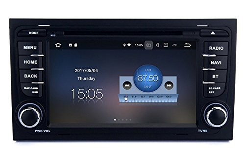 RoverOne Android 7.1 Sistema Para AUDI A4 R4 RS4 2002-2008 Car Radio...