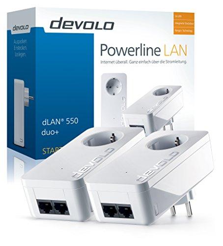 dLAN 550 duo+ Starter Kit Powerline - 2
