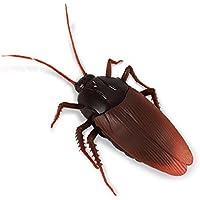 Isuper Insecto telecontrol,Cucaracha telecontrol Simulación Juguete RC Eléctrico Educativos Juguetes de Broma para Halloween