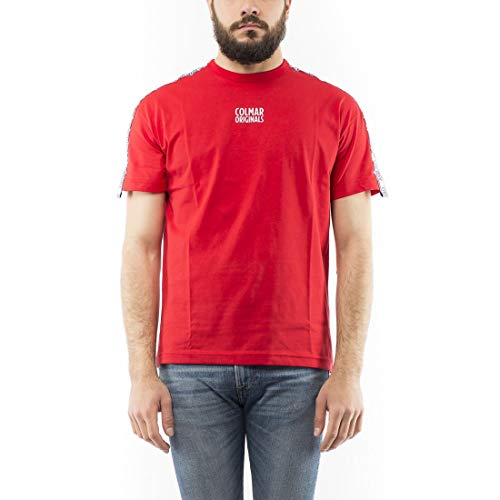 Colmar T Shirt Manica Corta Uomo Originals Rossa