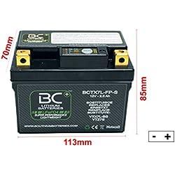 BC Lithium Batteries BCTX7L-FP-S Batería Moto de Litio + BC Duetto ...