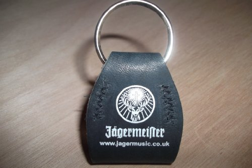 jgermeister-plectrum-leather-case-keyring-scarce-jgermeister-collectable