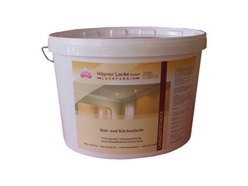 Höpner Lacke SDI0772-007 Bad- und Küchenfarbe 5 L, Naturweiß