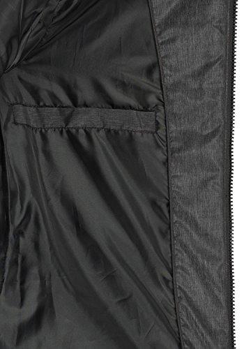 BlendShe Nelly Damen Steppmantel Wintermantel Winterjacke Mit Gefütterter Kapuze, Größe:M, Farbe:Black (20100) - 6