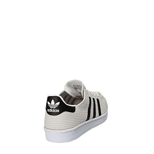 adidas Herren Superstar Fitnessschuhe vari colori (Ftwbla/Ftwbla/Negbas)