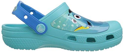 Crocs CC Finding Dory Clog, Sabots - Mixte enfant Bleu (Pool)