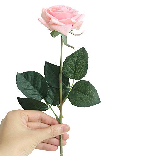 Dvhblxux Fleur Artificiel Fleurs Artificielles Decoration Mariage Fausse Bouquet de Fleur Centre de Table pour Decoration Cuisine Maison Jardin Fête Pivoine