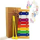 JRD&BS WINL Kinder Xylophon Spielzeug,1-3 Jahre Altes Mädchen,Junge Erstes Geburtstagsgeschenk