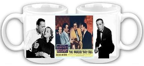Die Härter Sie Fall Humphrey Bogart Film Poster Kaffee Tasse