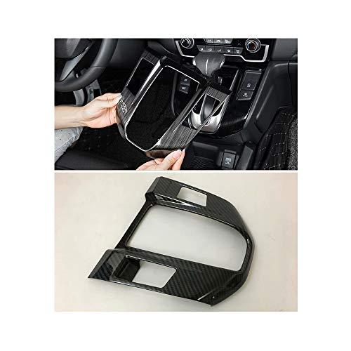 YP Carbon Fiber Style Car Console Gear Box Panel Moulding Trim for 2017-2018 Honda CRV