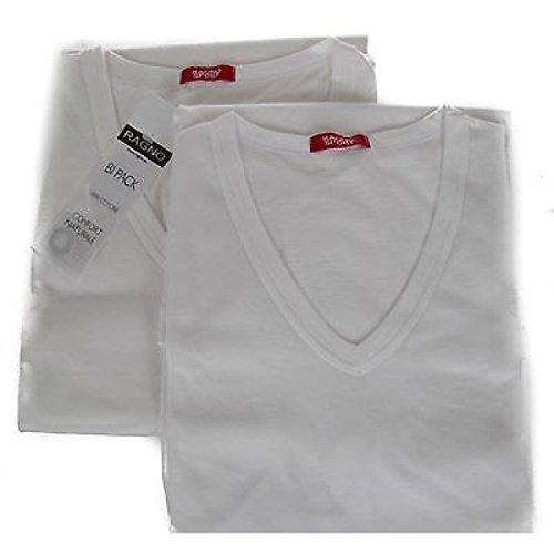 bipack-2-t-shirt-v-uomo-ragno-sport-articolo-601418-taglia-s-colore-010b-bianco