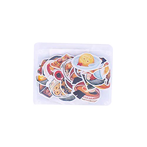 jingyuu Hand Account Sticker for DIY Scrapbooking Photo Album Notebook Diary Greeting Card (Food-1)