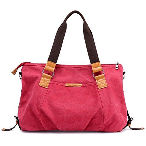 c8613a9b55e591 DFUCF Tasche Strandtasche Shopping Arbeit Lagerung Große Kapazität  Umhängetasche Umhängetasche Reisetasche Orange