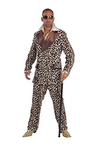 Leopardenanzug Lude Partymann Pimp Suite de Luxe -