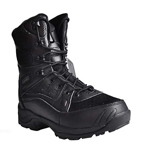 HSAWVE SHOES Scarpe da Trail Running Uomo Stivali da Combattimento IScarponi Militari da Uomo Primavera e Autunno, Scarpe da Trekking all'aperto-Black-EU41/255mm/UK7.5