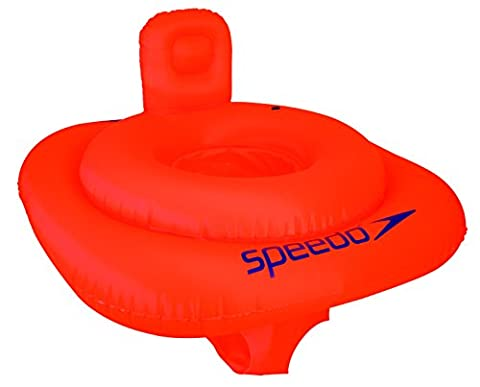 Speedo Kids' Swim Seat - Orange, 1-2
