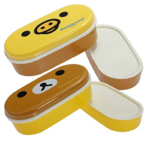 2 Tier Bento Lunch Box Sushi Fruits Container Case + Chopsticks Belt by BestMall